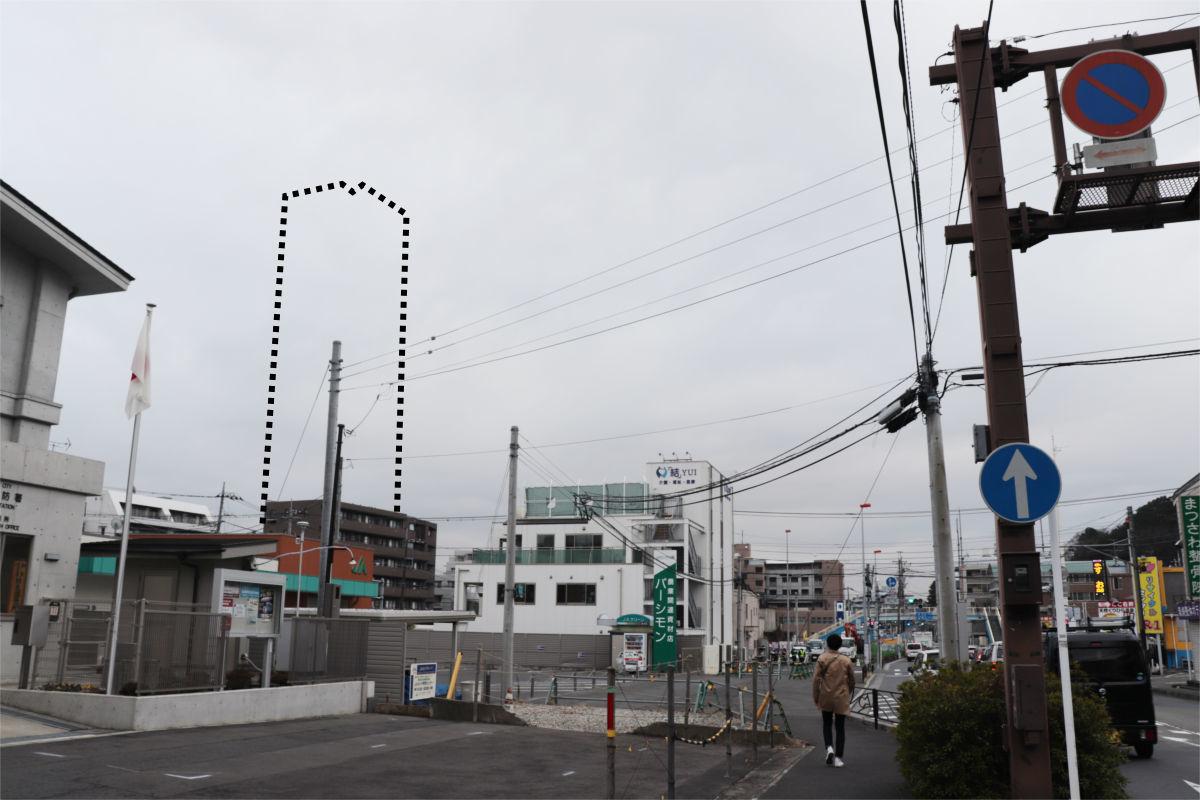 柿生駅南口再開発が始動 駅前に30階建て高層ビル建設へ 着手前の状況_a0332275_03110603.jpg