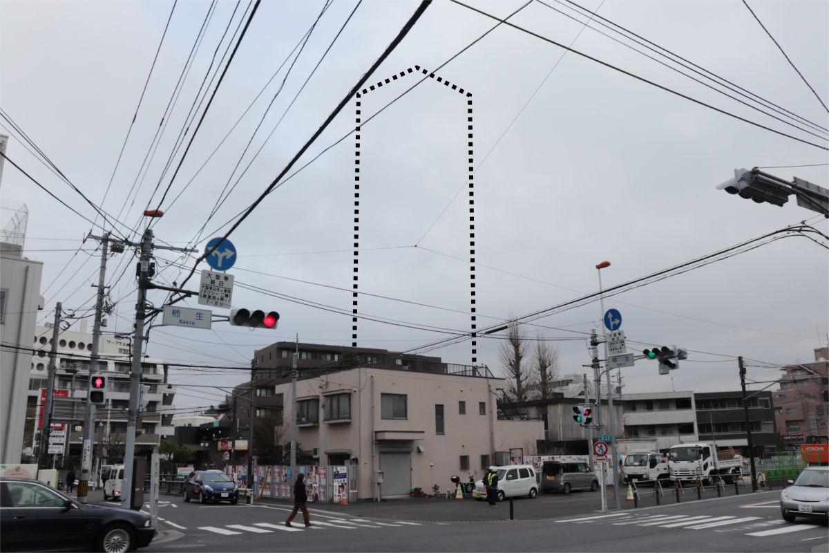 柿生駅南口再開発が始動 駅前に30階建て高層ビル建設へ 着手前の状況_a0332275_03113806.jpg