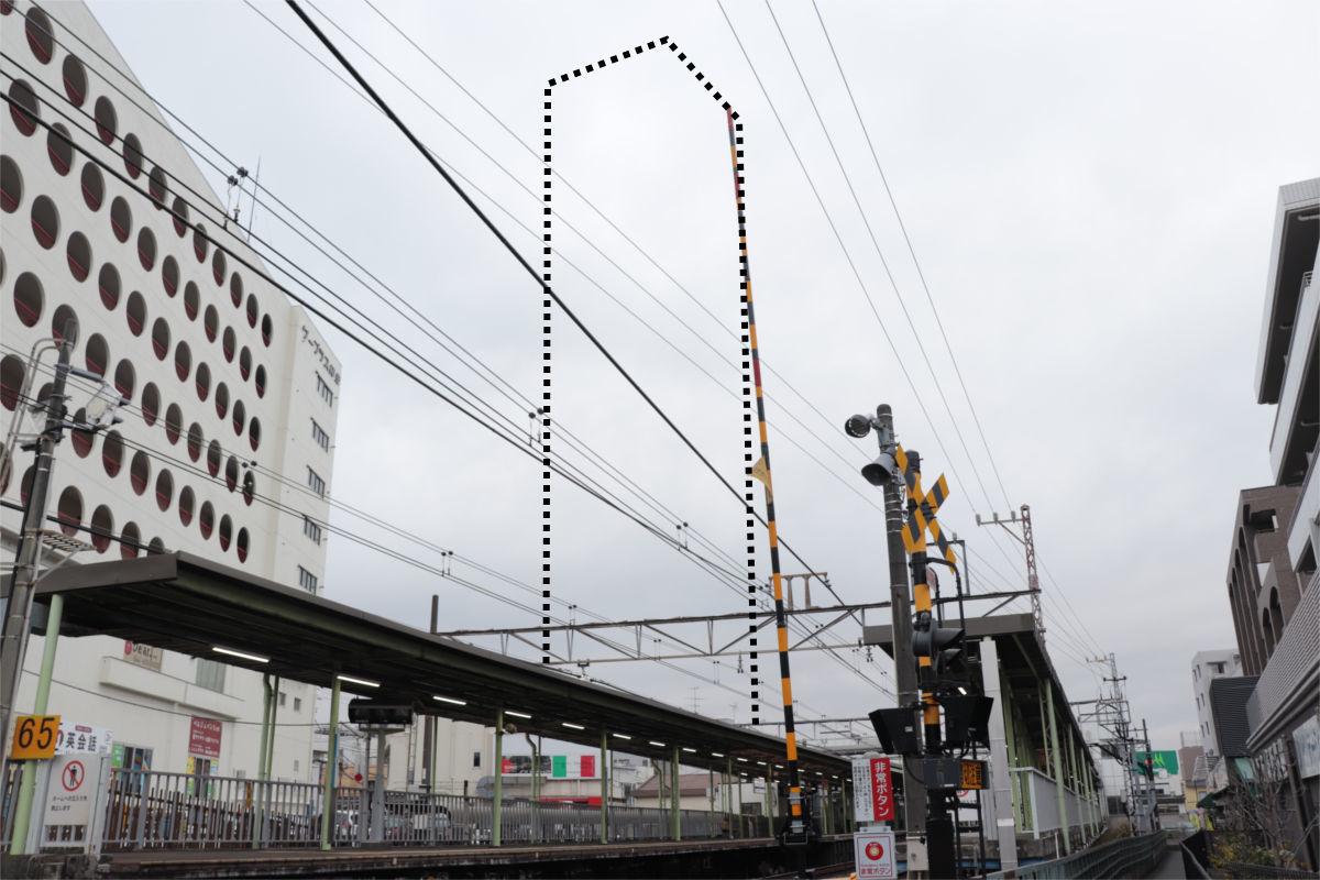 柿生駅南口再開発が始動 駅前に30階建て高層ビル建設へ 着手前の状況_a0332275_03115447.jpg