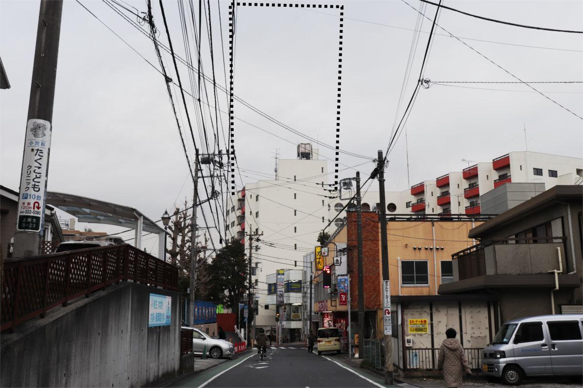 柿生駅南口再開発が始動 駅前に30階建て高層ビル建設へ 着手前の状況_a0332275_03121839.jpg