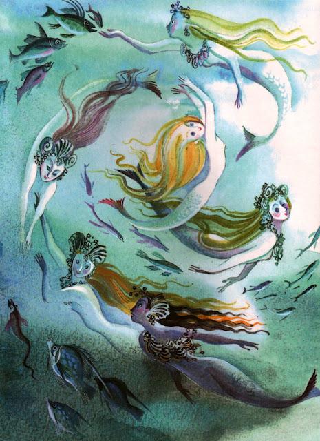 Nika Goltz画の人魚姫_c0084183_8174348.jpg