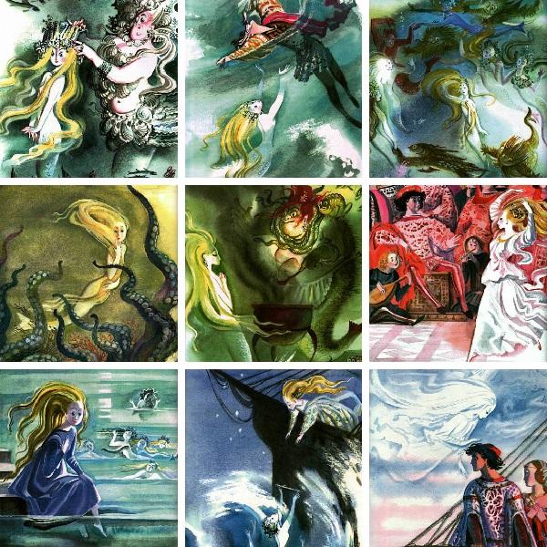 Nika Goltz画の人魚姫_c0084183_942020.jpg