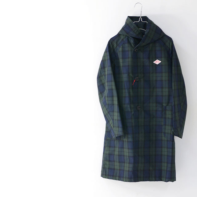 DANTON [ダントン] W\'s NYLON TAFFETA CHECK SINGLE PARKA JACKET [JD-8739NPL] ナイロン タフタ パーカー ジャケット LADY\'S_f0051306_17031804.jpg