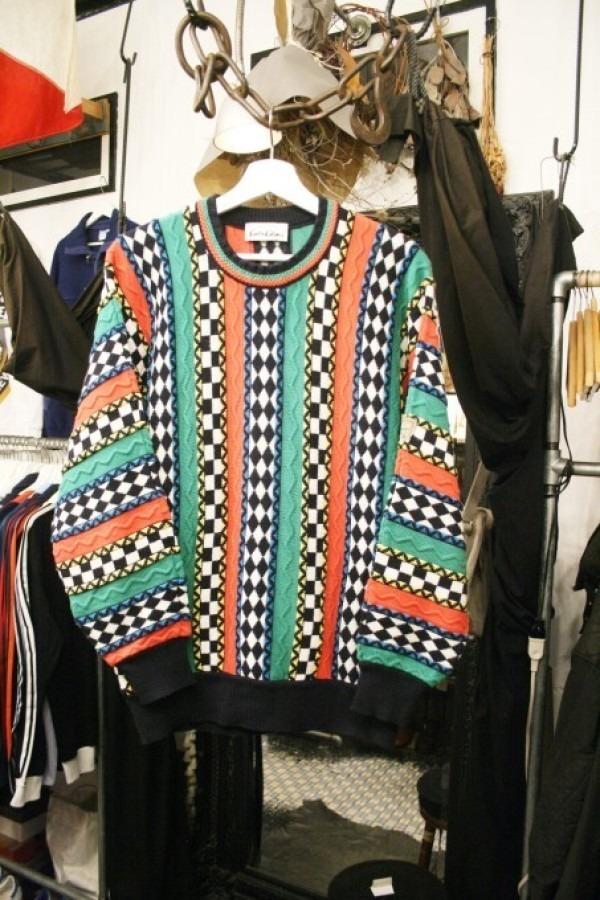 蚤の市打ち上げに交ざったけど、全然打ち上げ感はなかった 入荷メンズセーター うるさいセーターと静かなセーター_f0180307_22214452.jpg