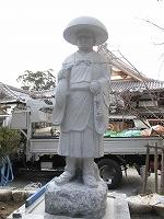 弘法大師の石仏_e0363711_10083737.jpg