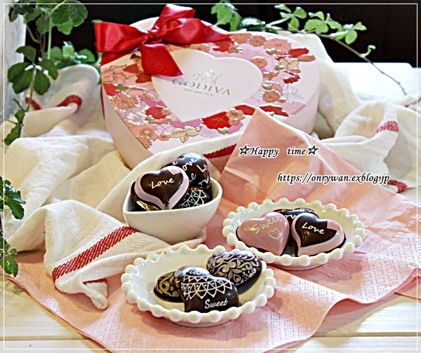 エビフライ弁当とあたしのチョコと次女のチョコ♪_f0348032_16083786.jpg