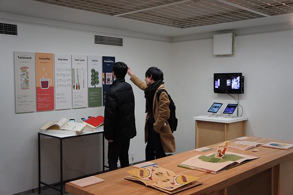 グラフィックデザイン展「あさ」開催中です。_f0171840_12200672.jpg