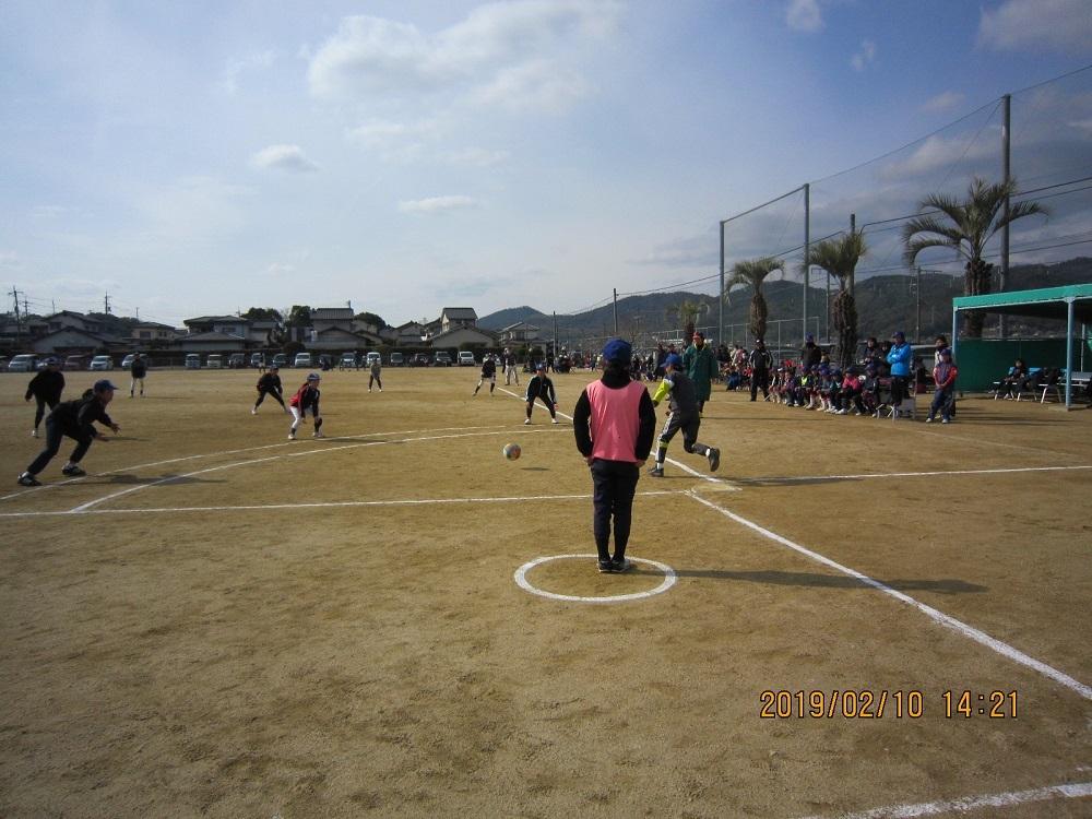 第13回クラモク杯フットベースボール大会を開催_b0211845_09553854.jpg