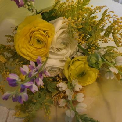 オークリーフ花の教室(落合さんと須藤さんの作品)_f0049672_19093246.jpg