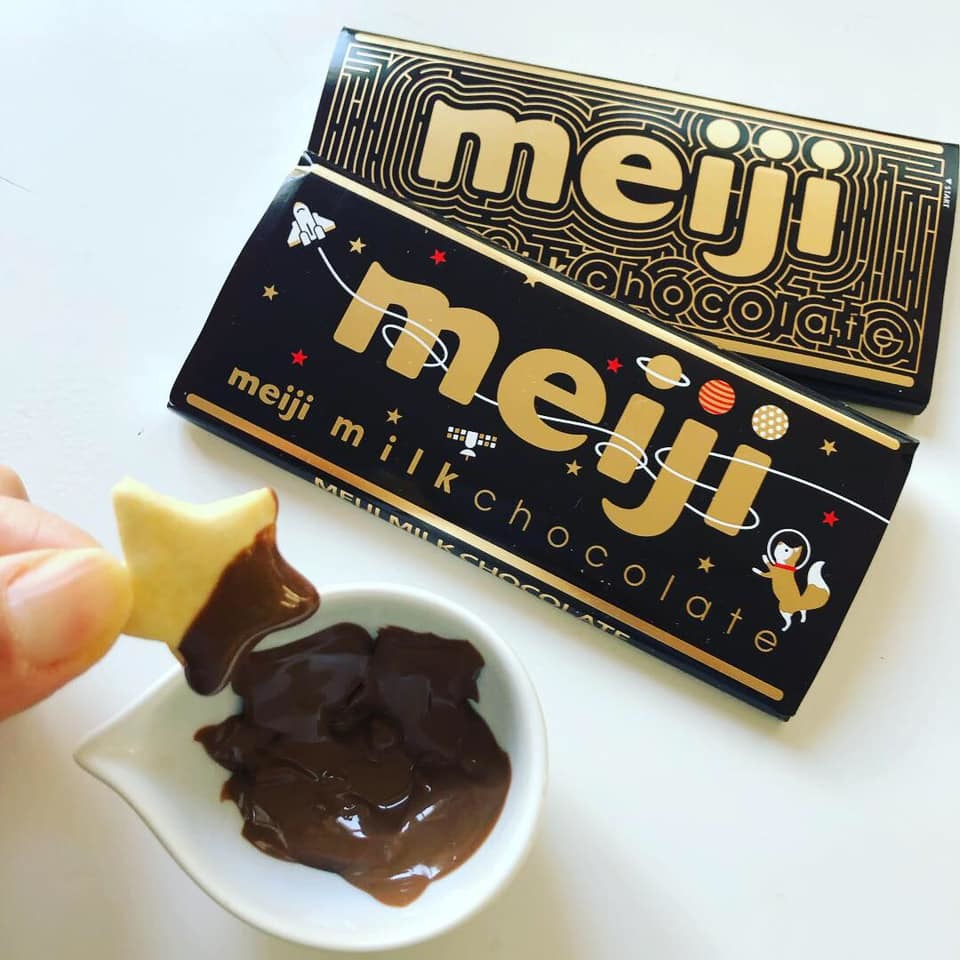 ♪チョコレートは明治🍫♪_b0195783_10083645.jpg