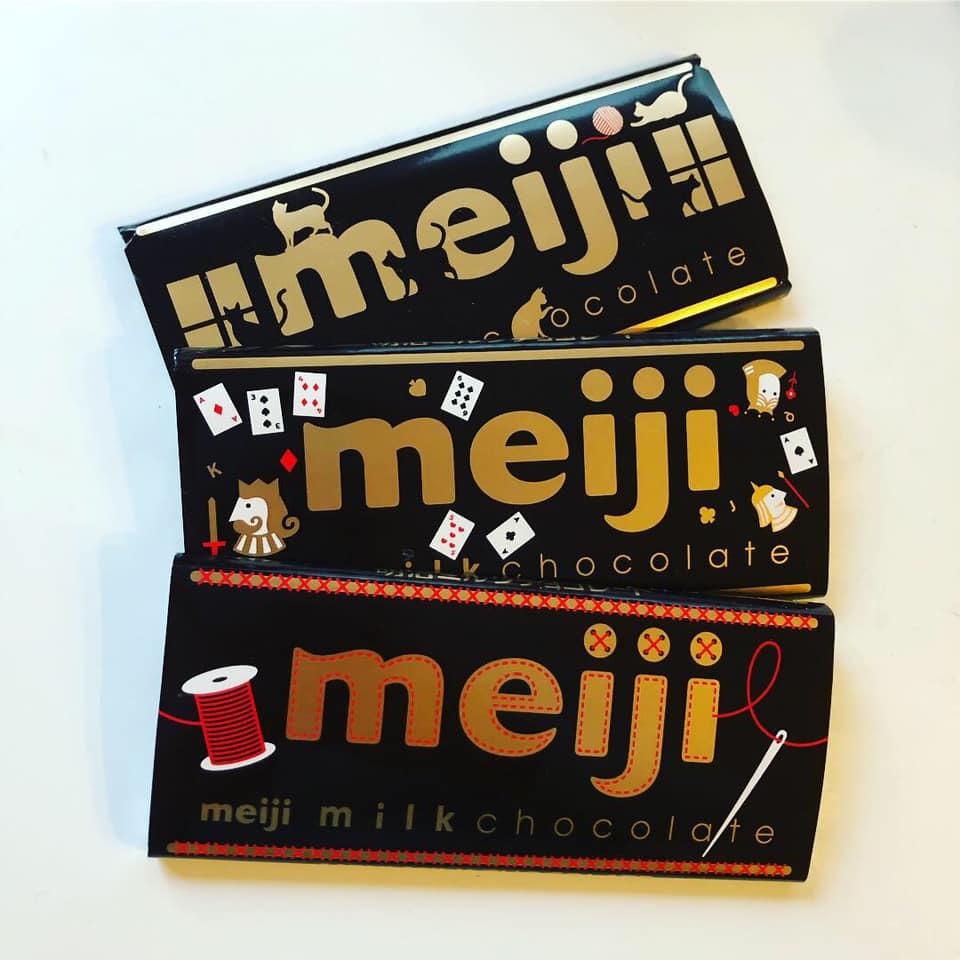♪チョコレートは明治🍫♪_b0195783_10083651.jpg