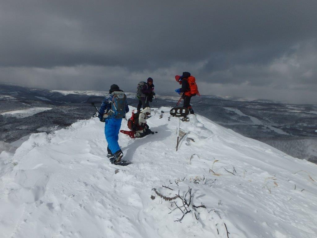 白老岳と白老岳、2019.2.9ー同行者からの写真ー_f0138096_13471343.jpg