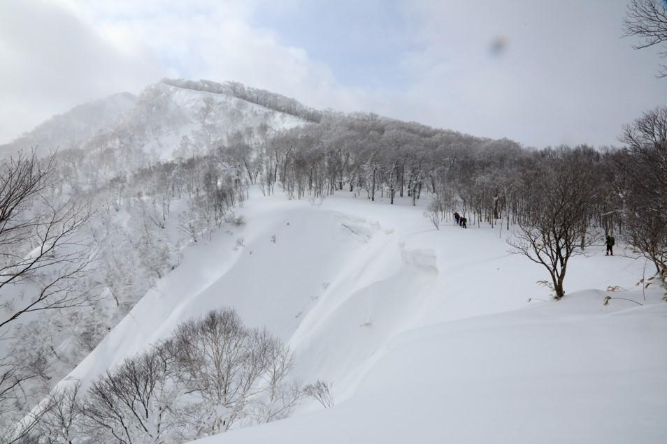 白老岳と白老岳、2019.2.9ー同行者からの写真ー_f0138096_13484075.jpg