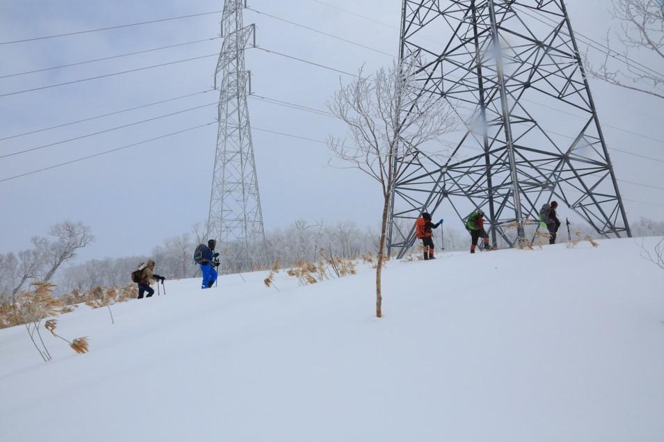 白老岳と白老岳、2019.2.9ー同行者からの写真ー_f0138096_13484791.jpg