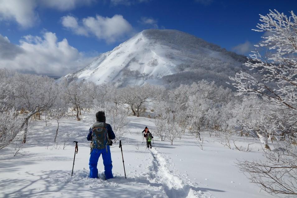 白老岳と白老岳、2019.2.9ー同行者からの写真ー_f0138096_13485178.jpg