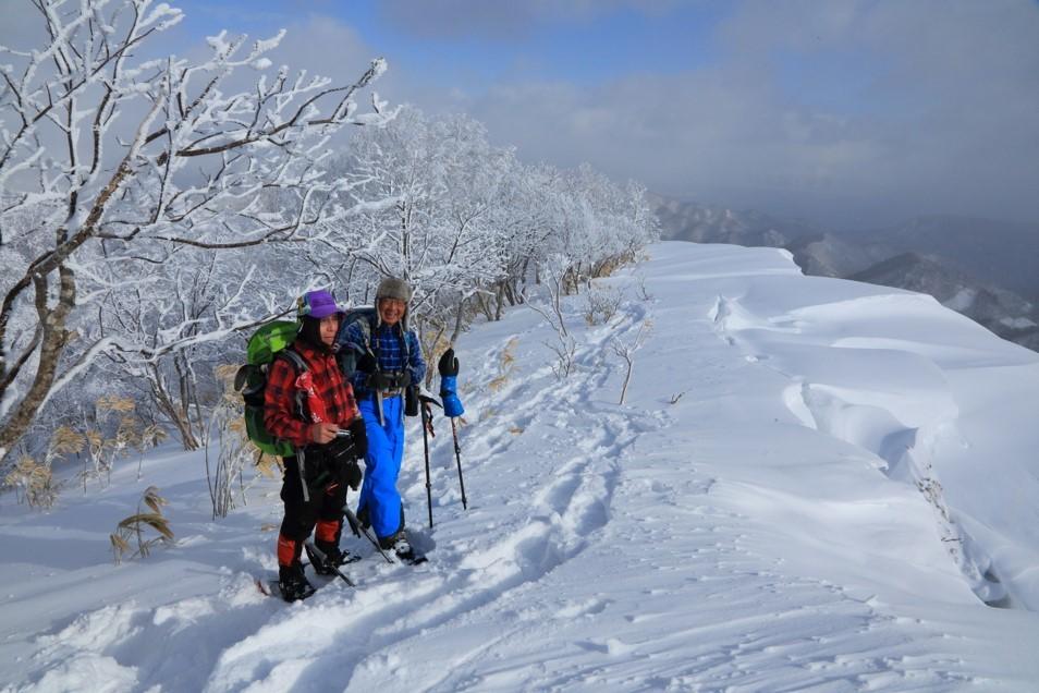 白老岳と白老岳、2019.2.9ー同行者からの写真ー_f0138096_13485723.jpg