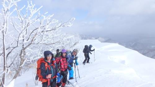 白老岳と白老岳、2019.2.9ー同行者からの写真ー_f0138096_13493754.jpg