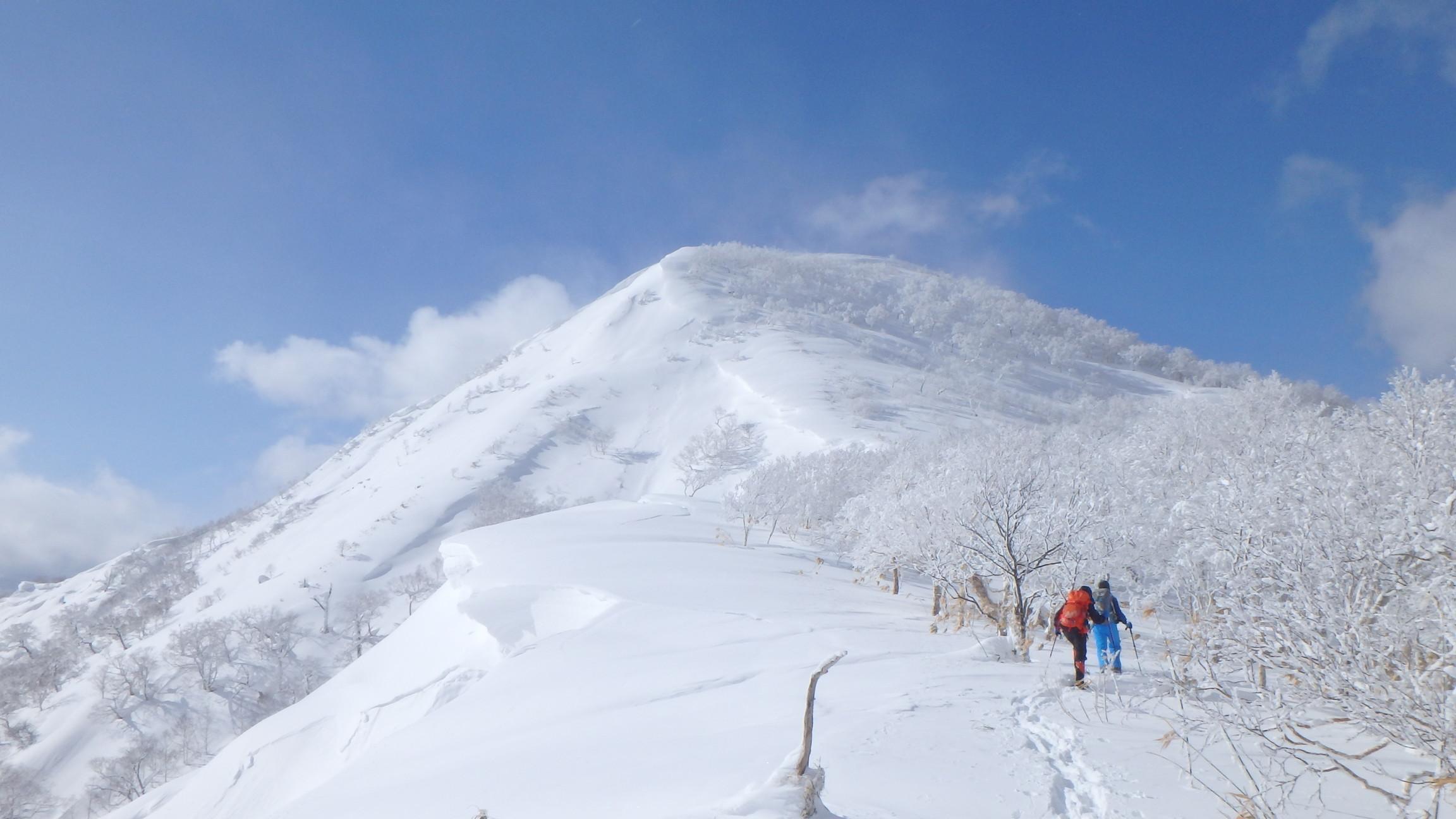 白老岳と白老岳、2019.2.9ー同行者からの写真ー_f0138096_13494884.jpg