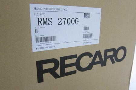 RECARO RMS続々入荷中です~_c0079816_15313296.jpg
