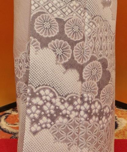 10周年・絞りの着物に龍の帯・お客様の雪だるまコーデ_f0181251_1663953.jpg