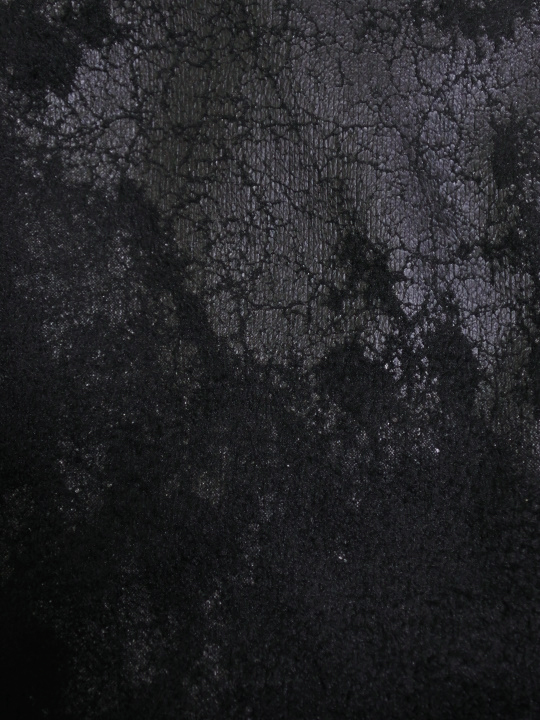 着物衿カットソー クラッシュレザー(黒)_d0335577_17530478.jpg