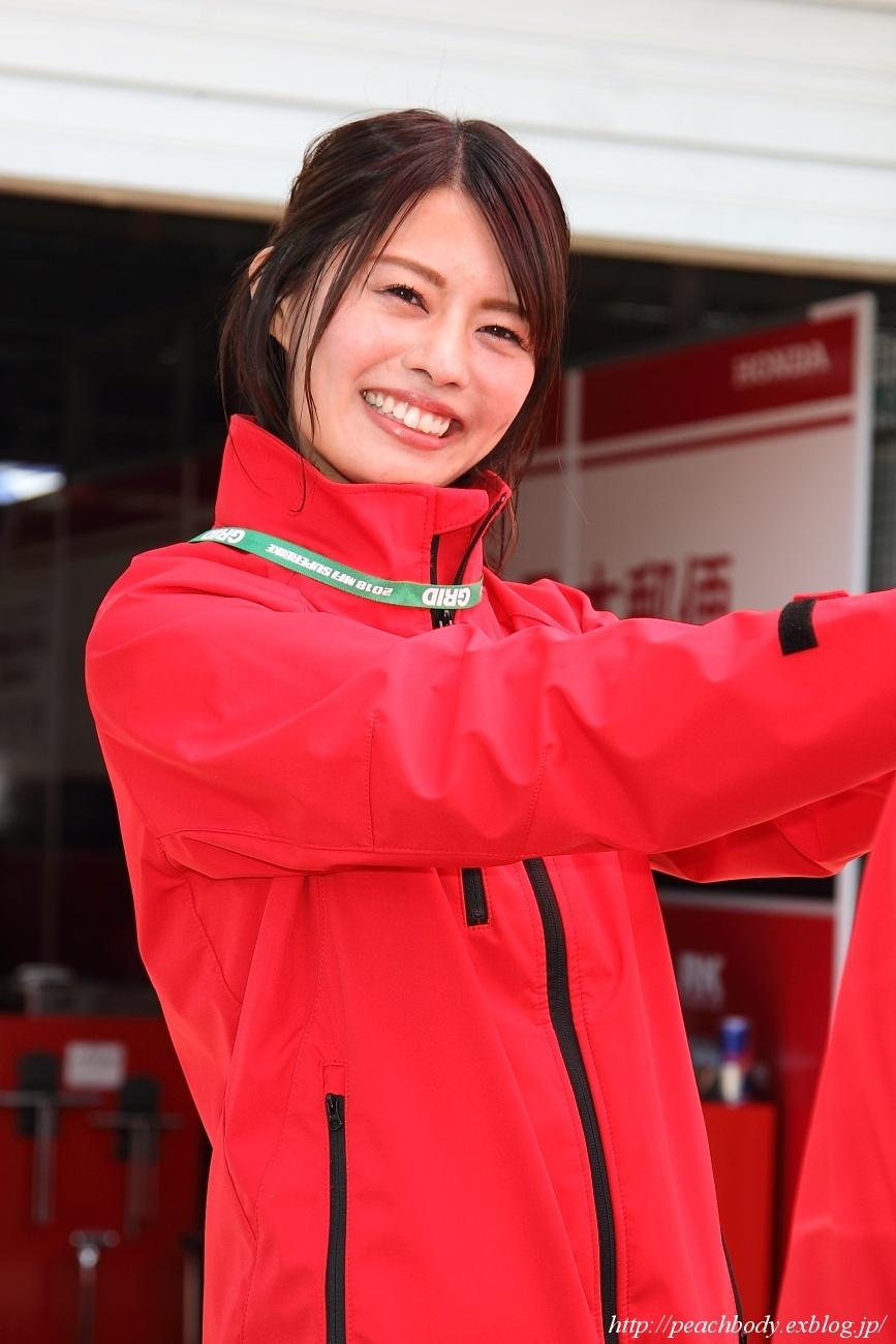 津田知美 さん & 大関さおり さん(日本郵便HondaDream レースクイーン)_c0215885_22383489.jpg