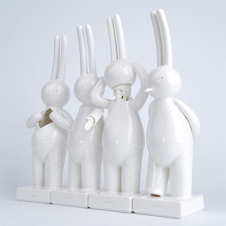 mr clement porcelain sculpture set of 4_e0118156_17473914.jpg