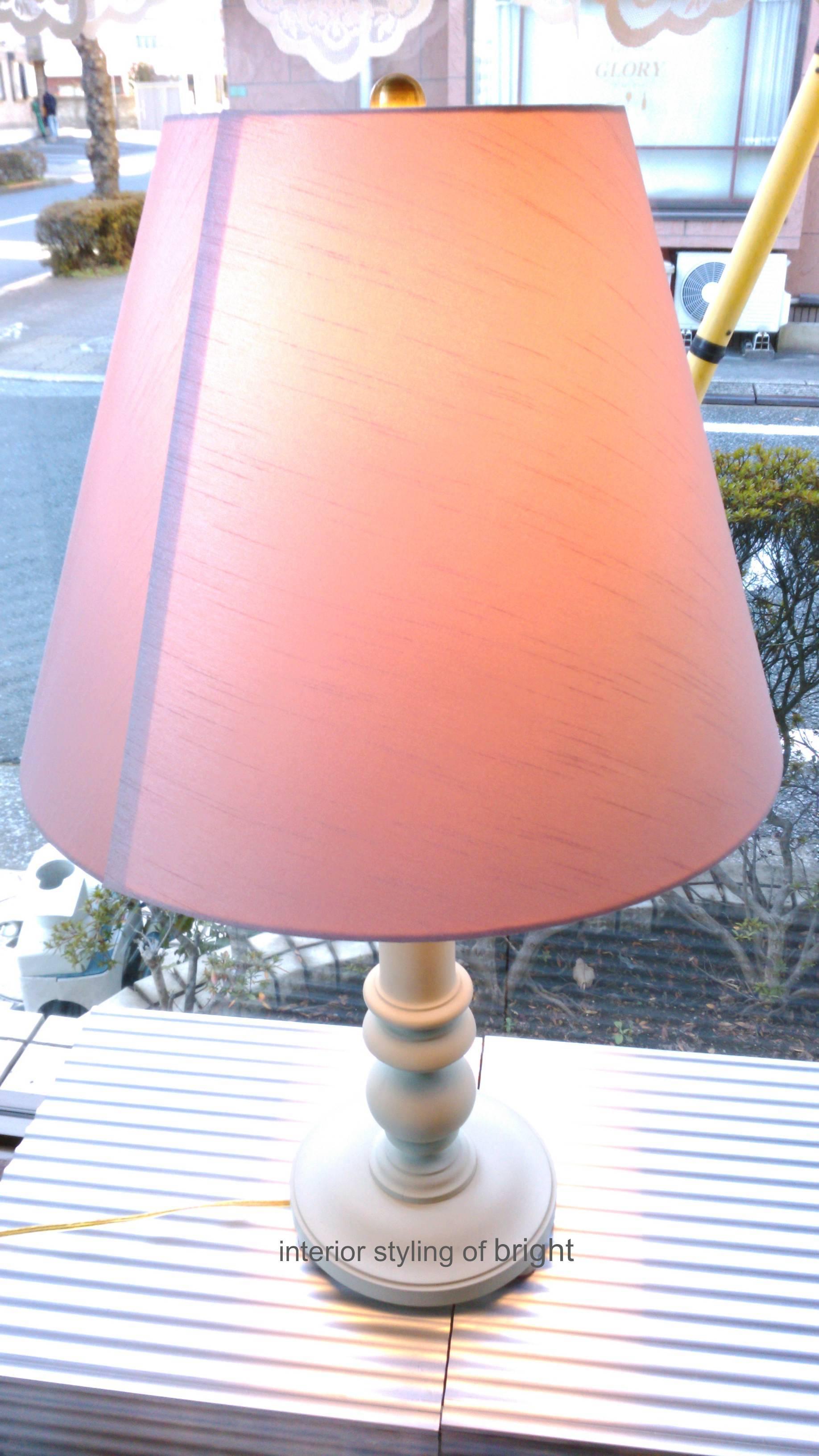 ランプシェード 張替 ウィリアムモリス正規販売店のブライト_c0157866_15265080.jpg