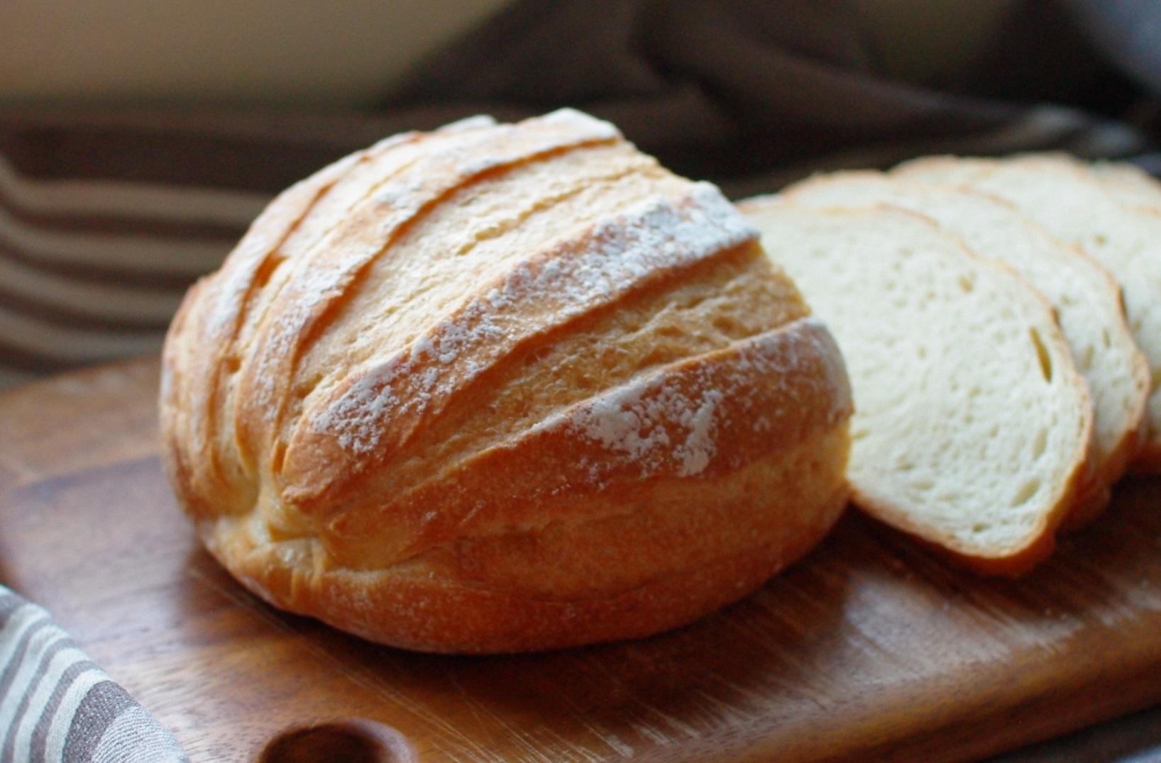 鍋パンでミルクハース②(生クリーム30%、ポーリッシュ種)_c0110869_06472966.jpg