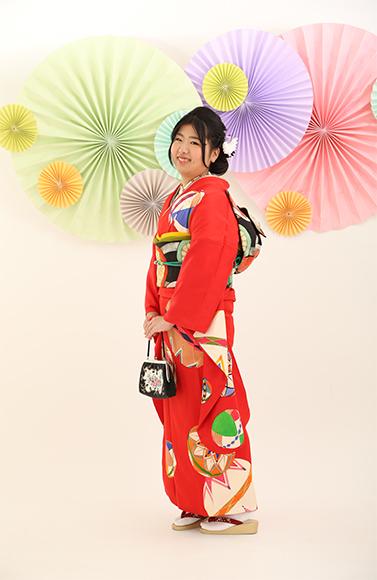 アンティーク振袖で華やぎいっぱい☆北海道の成人式のお客様_b0098077_17274695.jpg