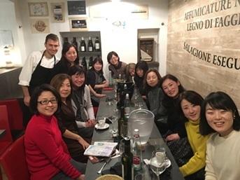 教室ツアーin Piemonte7日目④ トリノで打ち上げディナー♪_d0041729_23013476.jpg