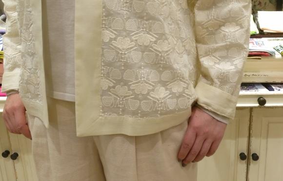 Porter des boutons から、刺繍が美しいシリーズです。_c0227633_14112856.jpg