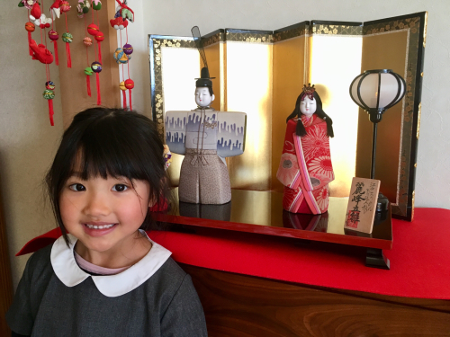 我が家の雛人形❣️_a0071934_19524614.jpg