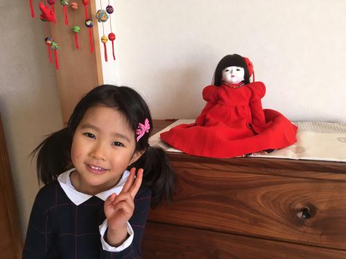我が家の雛人形❣️_a0071934_19542063.jpg