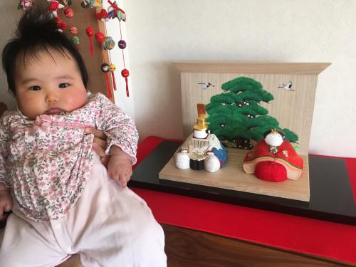 我が家の雛人形❣️_a0071934_20014900.jpg