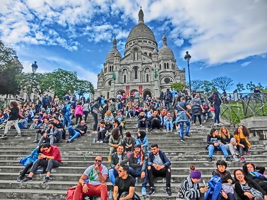 パリ (2)  モンマルトル - 2    サクレ・クール寺院_b0408745_08100341.jpg