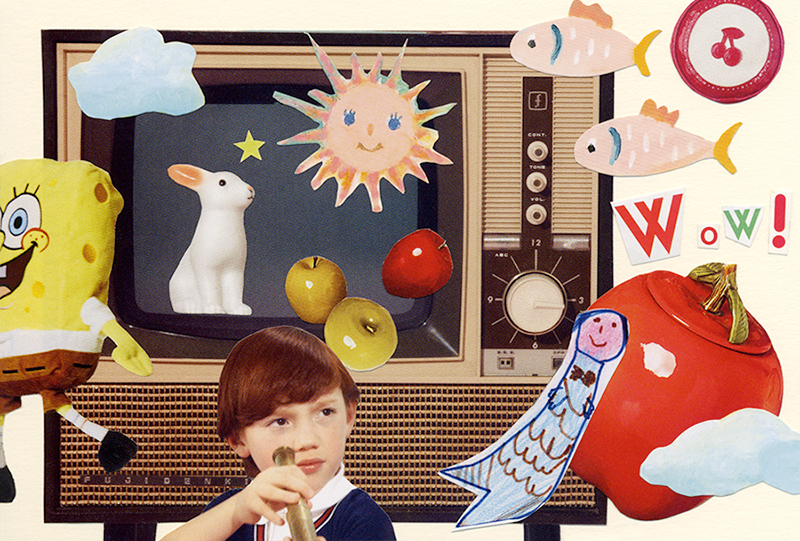 COLLAGE CARD #104 : Wow!「ワォ!」_d0018646_14015062.jpg