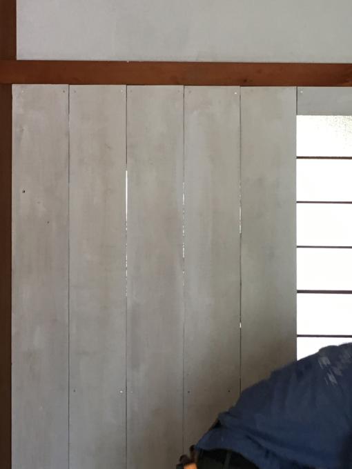 娘の部屋その4。隣の部屋との仕切りを作りました。_f0182246_15042815.jpg