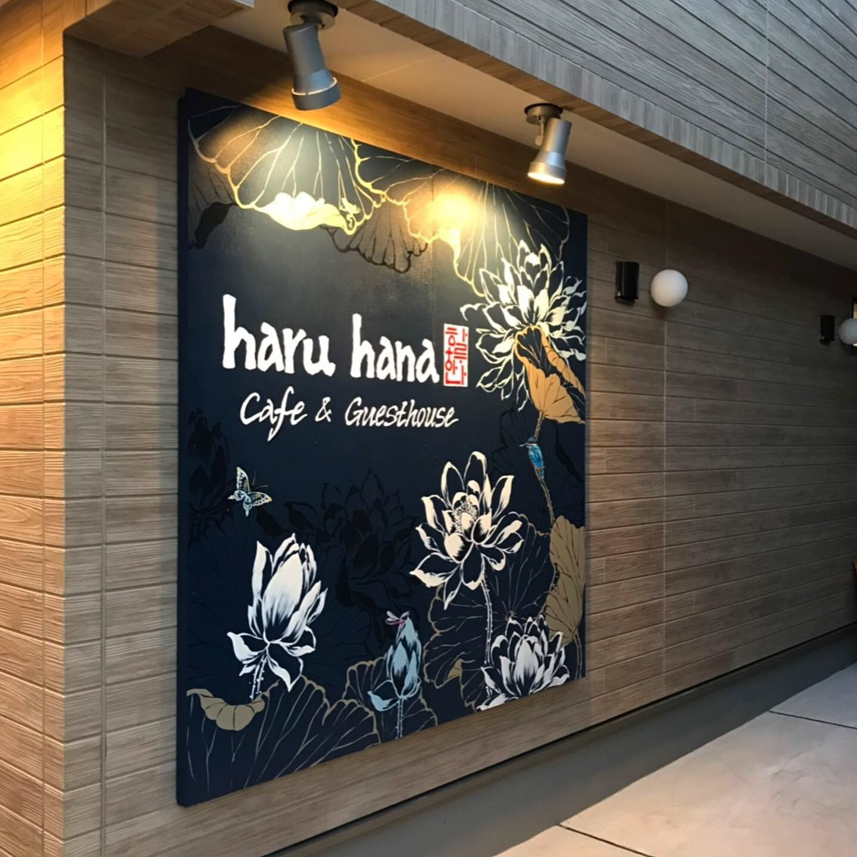 ロースイーツカフェに看板壁画を描きました!_d0090959_21320775.jpeg