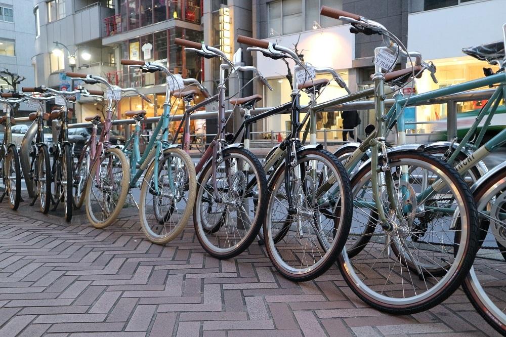 2月17日 渋谷 原宿 の自転車屋 FLAME bike前です_e0188759_19024013.jpg