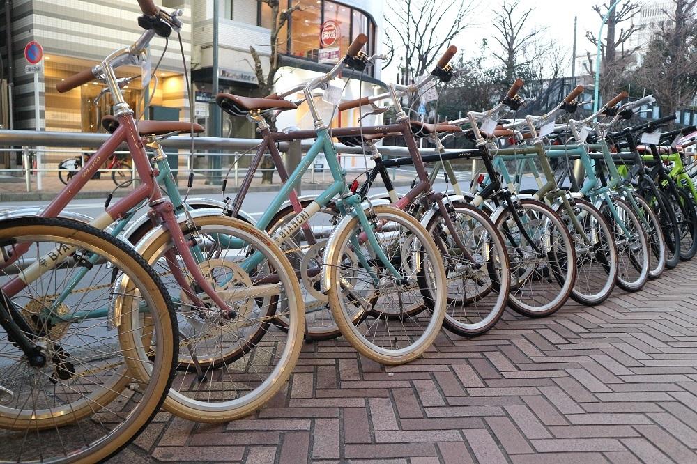 2月17日 渋谷 原宿 の自転車屋 FLAME bike前です_e0188759_19024342.jpg