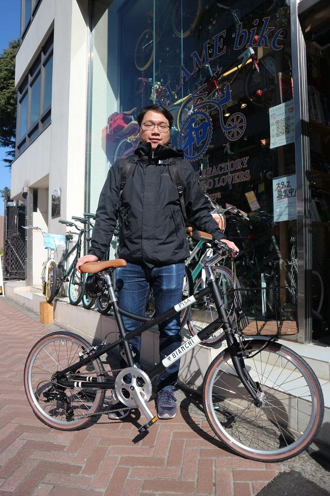 2月17日 渋谷 原宿 の自転車屋 FLAME bike前です_e0188759_19052522.jpg