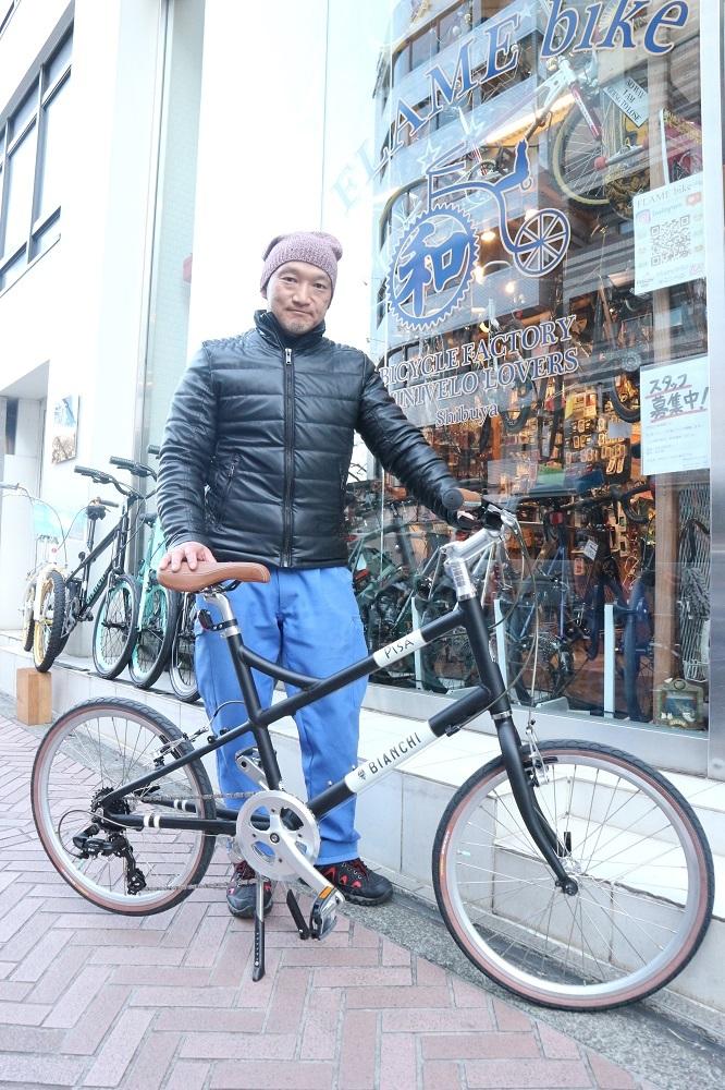 2月17日 渋谷 原宿 の自転車屋 FLAME bike前です_e0188759_19053048.jpg