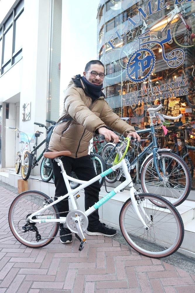 2月17日 渋谷 原宿 の自転車屋 FLAME bike前です_e0188759_19053392.jpg
