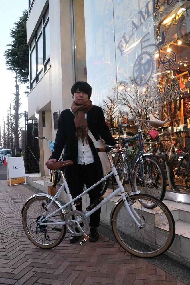 2月17日 渋谷 原宿 の自転車屋 FLAME bike前です_e0188759_19053600.jpg