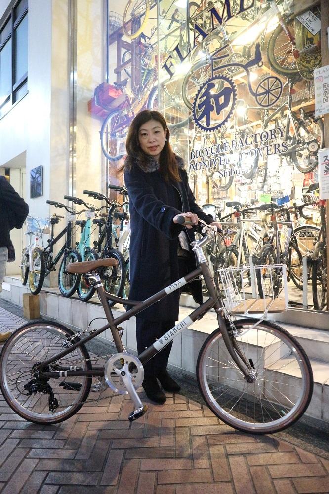2月17日 渋谷 原宿 の自転車屋 FLAME bike前です_e0188759_19053990.jpg