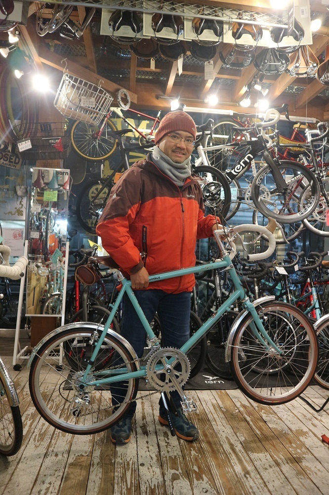 2月17日 渋谷 原宿 の自転車屋 FLAME bike前です_e0188759_19054525.jpg