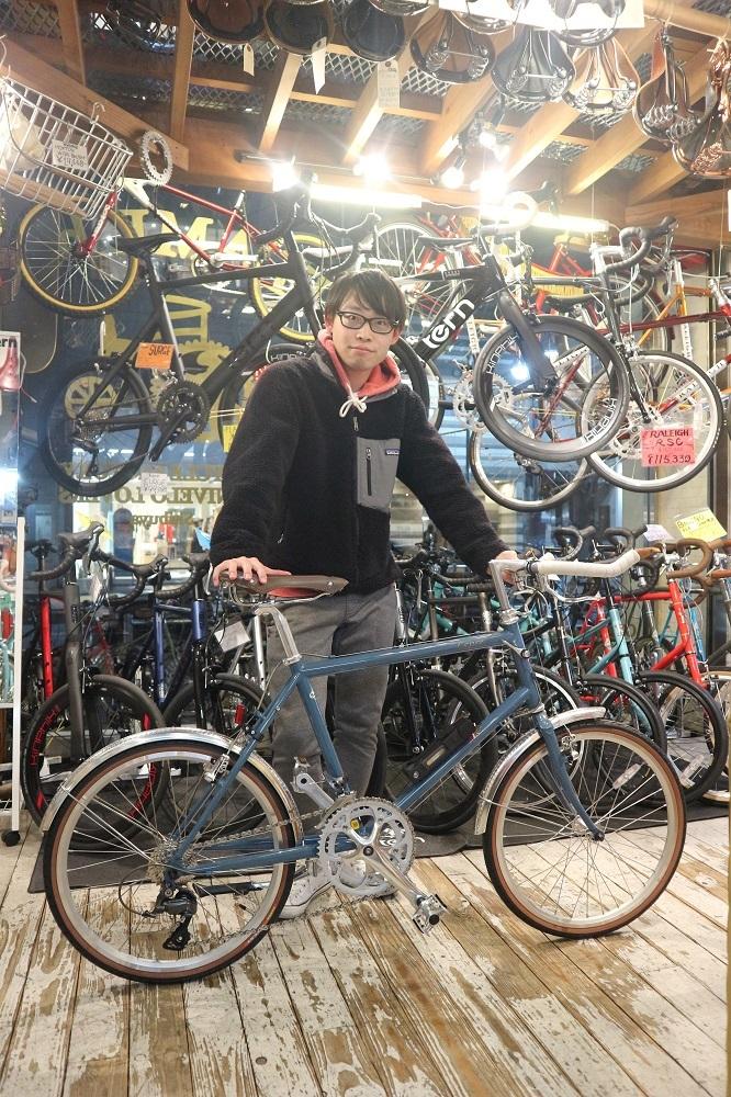 2月17日 渋谷 原宿 の自転車屋 FLAME bike前です_e0188759_19272108.jpg