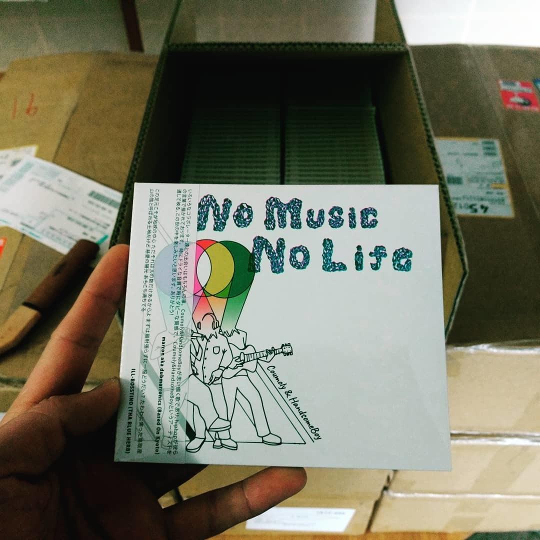 「NO MUSIC NO LIFE」  /  Coumoly&HandsomeBoy   Release_e0115904_06253915.jpg