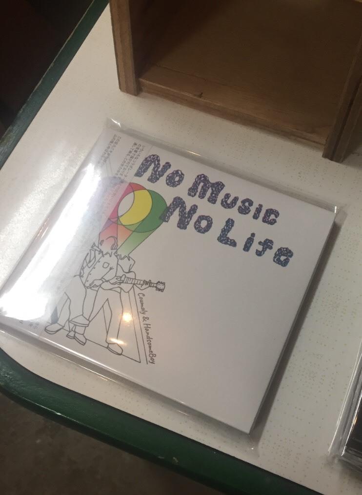 「NO MUSIC NO LIFE」  /  Coumoly&HandsomeBoy   Release_e0115904_07183589.jpg